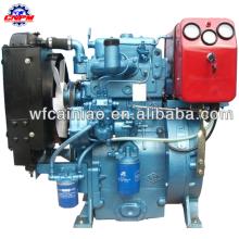 Weifang hat einen hochwertigen Zweizylinder-Dieselmotor gebaut