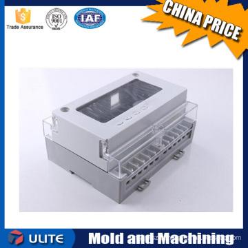 Moldagem por injeção de plástico caixa de relógio de fogo caixa de instrumentos e peças de reposição de máquinas de moldagem por injeção de plástico