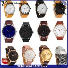 Yxl-552 2016 Fashion Man and Women Business Wrist Leather Mvmt Style Quartz Watch