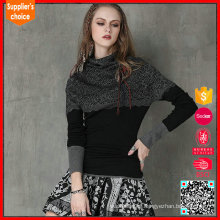 2017 mujeres suéter diseño jacquard estilo angora suéter mujeres