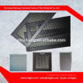 supply all kinds of regular hexagon small pore size aluminum honeycomb filter with light catalyst cold catalyst for air filter