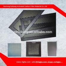 suministrar todo tipo de hexágono regular tamaño pequeño poro de aluminio filtro de panal con catalizador ligero catalizador frío para filtro de aire