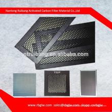 поставка всех видов правильного шестиугольника малый размер пор фильтра алюминиевая панель сота с свет катализатор холодного катализатора для воздушного фильтра