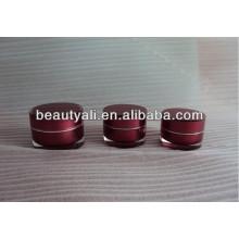 Frasco de acrílico de luxo Cosmetic Packing 2ml 5ml 10ml 15ml 20ml 30ml 50ml 100ml 150ml 200ml