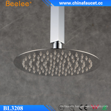 Water Saving Overhead Shower Bathroom Round Chrome Rainfall Head Shower