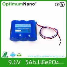 Deep Cycle 9.6V 5ah Lithium Battery