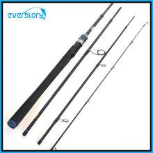 Attelage de pêche à quatre sections