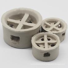 Embalagem em torre de anel em cascata de cerâmica