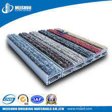Easy Folding Aluminum Base Anti Slip Outside Floor Entrance Mat
