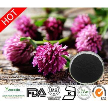 Fabrik-Versorgungsmaterial 100% natürliches Rot-Klee-Extrakt-Pulver Trifolium Pratense L in der Masse Isoflavone 20%