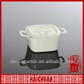 Ceramique Square Ramekin, ramequin en céramique