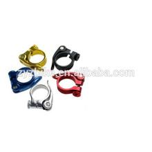Bracelets de serrage en alliage multi-couleur collier de tige de selle de vélo de route 34.9mm