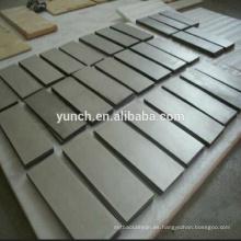 bloque de aleación de tungsteno