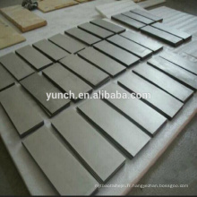bloc d'alliage de tungstène