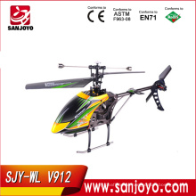 V912 2.4G 4ch rc helicopter v912 upgrade single propeller big 52cm radio control single screw