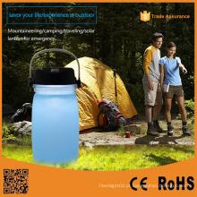 Ao ar livre portáteis multifuncionais carregamento camping lanterna
