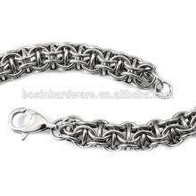 Fashion High Quality Metal Stainless Steel Chain Maille Bracelet
