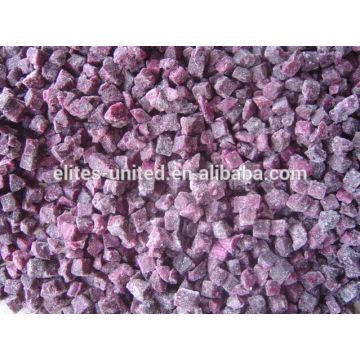 IQF frozen fresh purple sweet potato powder