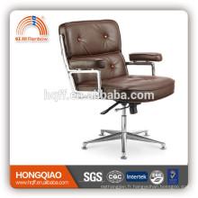 CM-B75BS chaise de loisirs chaise en cuir chaise en acier inoxydable