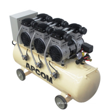Aircompressor APCOM EX1100*3-120 3.3kw Mute Oil Free Air Compressor With 120L Air Tank 230L 200L 100L air-compressor