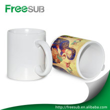 Whitesubliamtion ceramic porcelain blanks mugs