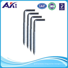 Half Thread Zinc Plated Square Hook Any Sizes Available