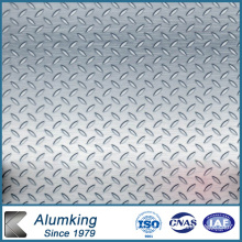 Placa de aluminio a cuadros de diamante 5052/5005