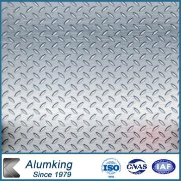Plaque en aluminium à cinq barres pour électricité