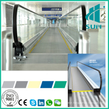 Moving Sidewalk with Good Quality Sum-Elevator