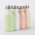340ML Colorful Milk Stainless Steel Thermos Water Bottle