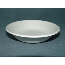 16oz / 450ml Bowl (Pulpa de papel Vajilla) Sugarcane Pulp Vajilla Plate Bowl Clamshell Biodegradable Bandeja