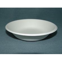 16oz / 450ml Bowl (papel Pastelaria) Pastelaria de cana-de-açúcar Louça de prato Bandeja biodegradável de concha