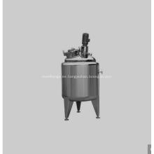 Tanque de preparación de tanque de acero inoxidable