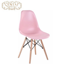 Wholesale Cheap Scandinavian look Nordic style Pretty Plastic and wood living room pink Chair