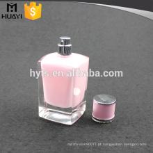 garrafa vazia de fantasia de perfume com pintura interna