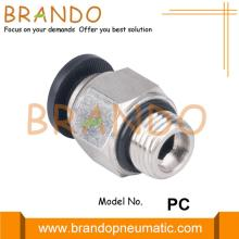 PC Male Straight Quick Connect Pneumatic Hose Fitting