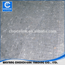 fiberglass mesh nonwoven mat for waterproof membrane