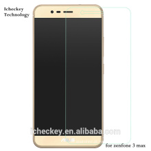 Shenzhen Preço Direto Da Fábrica 2.5D Borda Alta Clara 0.33mm protetor de tela de vidro temperado para ASUS zenfone 3 max