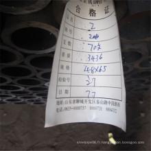 Tubes en acier sans soudure à tube étiré à froid 48 x 6,5 mm avec une bonne qualité