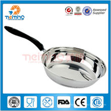 Popular stainless steel frying pan/Chinese woks/Saute Pan