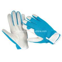 Förderndes Schweinsleder-Mechaniker-Arbeitswerkzeug-sicherer Handhandschuh