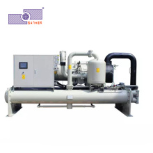 Low Temperature Glycol Water Cooled Screw Industrial Water Chiller