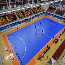 Indoor / extérieurs professionnels bon marché de sports de verrouillage de PP pour le terrain de basket