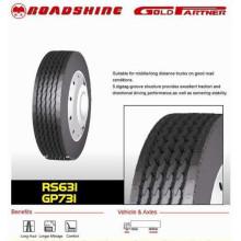 Kaufen Sie Reifen direkt aus China Roadmaster Cooper Reifenhersteller China 385 / 65R22.5 LKW-Reifen