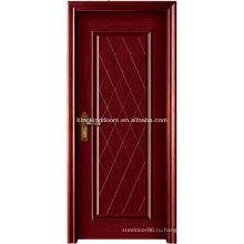 Композитные дерево твердых двери простой дизайн высокого качества MO-305 для спальни и ванной комнаты