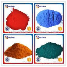 Alta qualidade várias cores Pigmento De Plástico