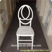 Nouvelle conception en cristal résine en plastique tiffany phoenix chaise