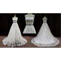 Bodycon colher vestido de casamento das senhoras