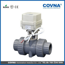 Electric pvc ball valve, pvc underground valves, 4 inch ball valve