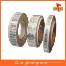 Guangzhou-Hersteller Großhandel Druck-und Verpackungsmaterial benutzerdefinierte selbstklebende Festplatte weißen Etikett